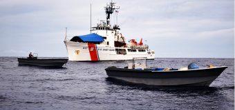 US Coast Guard Cutter Vigilant Interdicts Approximately 3,000 kilograms of Cocaine near Costa Rica