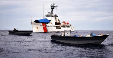 US Coast Guard Cutter Vigilant Interdicts Approximately 3,000 kilograms of Cocaine near Costa Rica