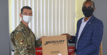US Contributes $40k of Parts and Equipment to Regional Security System