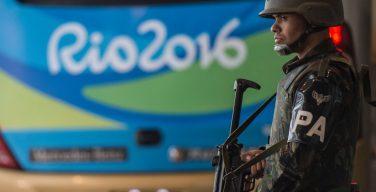Rio 2016 está na 5 ª fase da preparação para um possível atentado terrorista