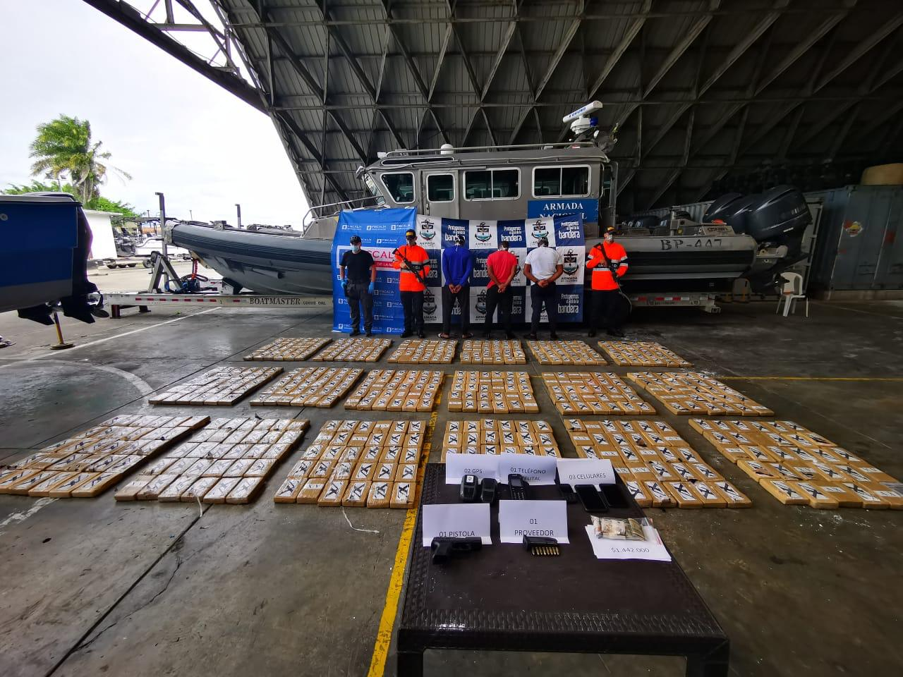Colombian Navy Intercepts More Than a Half-Ton of Cocaine in the Pacific