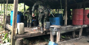 Colombian Army Boosts Results in the Fight against Narcotrafficking