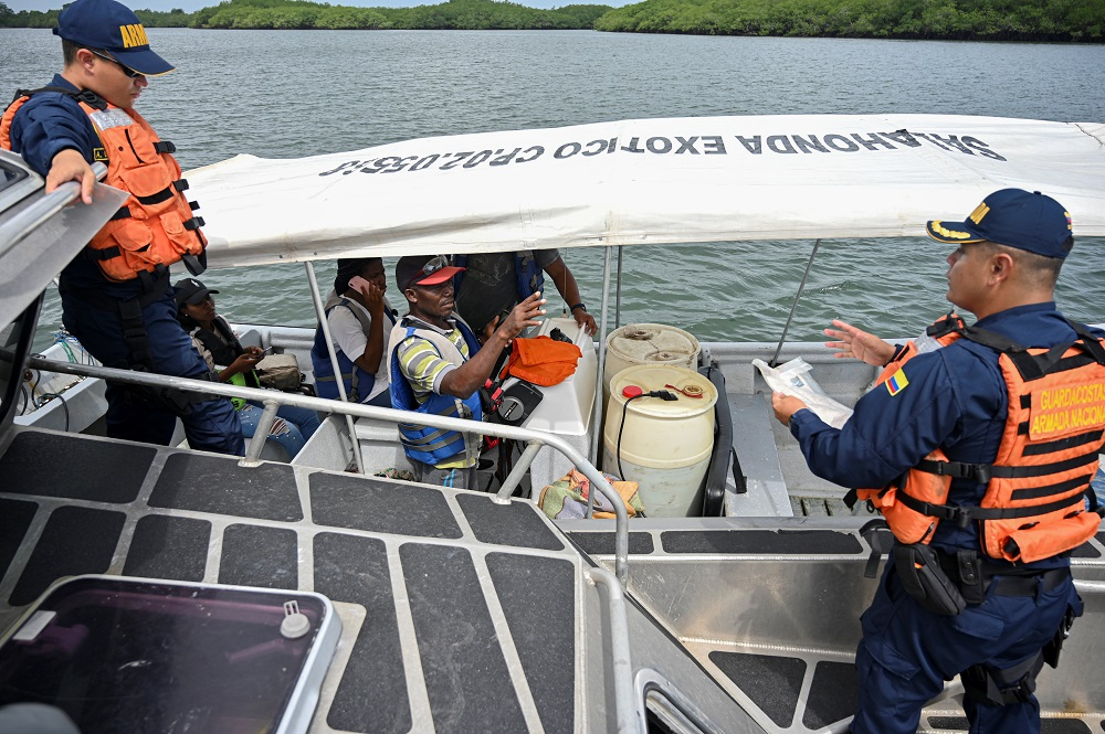 JIATF South and Colombia Disrupt Drug Flow in the Pacific
