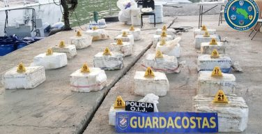 Costa Rica Seizes More than 1 Metric Ton of Cocaine in the Caribbean