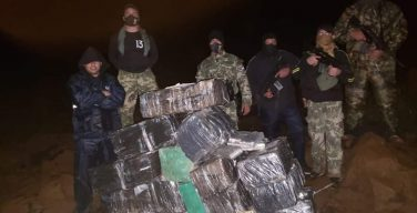 Paraguayan Navy Seizes Almost 500 Kg of Marijuana