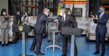 US Donates Ventilators to Colombia to Combat COVID-19