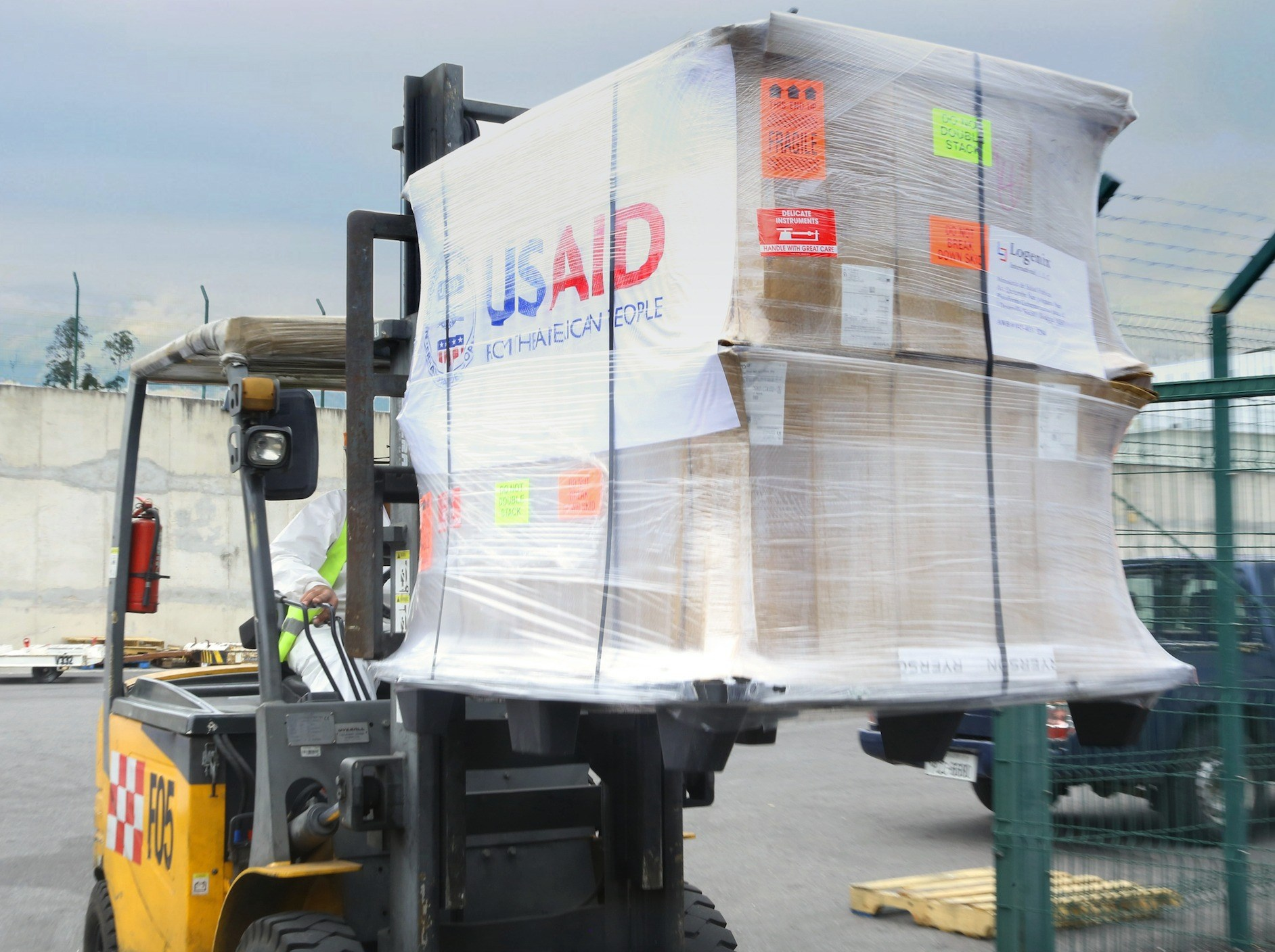 United States Provides Ventilators to Saves Lives in Ecuador in Response to COVID-19 Crisis