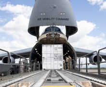 Travis Air Force Base in the United States Delivers Aid to Honduras