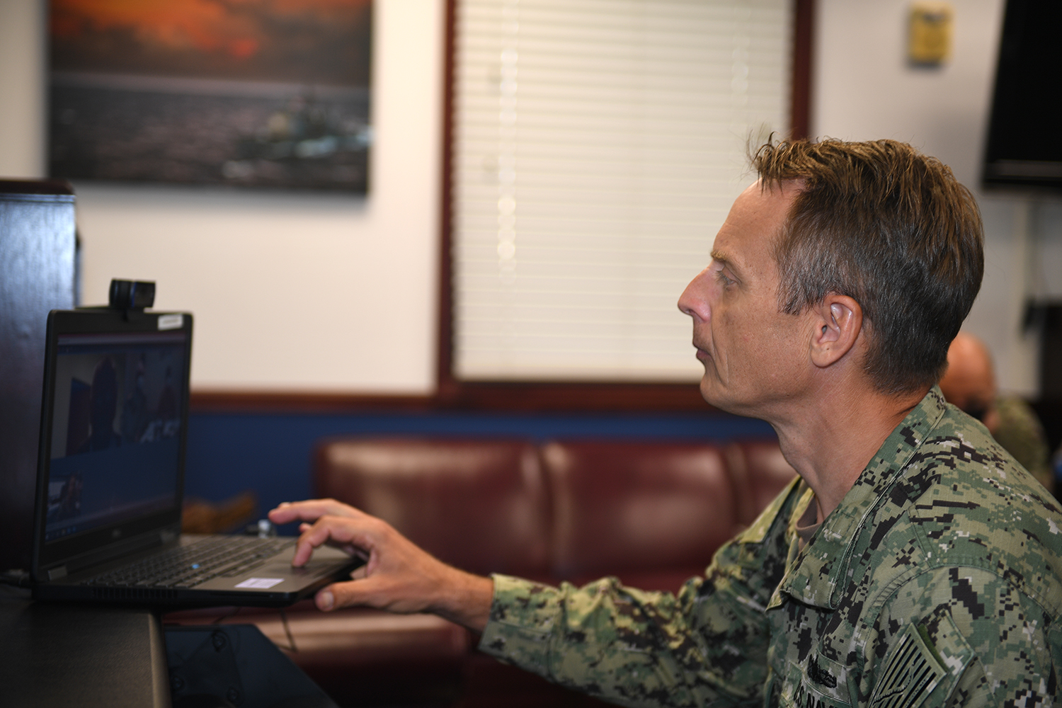 4th Fleet Commander Hosts Maritime Staff Talks with Chilean Navy