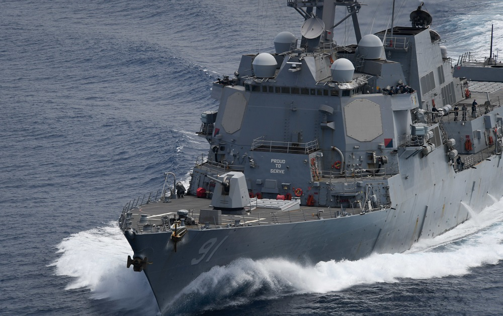 USS Pinckney Freedom of Navigation Operation Challenges Venezuela's Excessive Maritime Claim