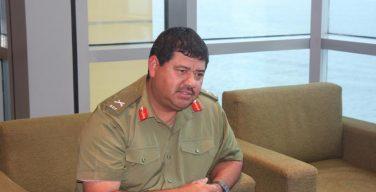 Interview with Belize Chief of Defense: Brigadier General Dario Oscar Tapia