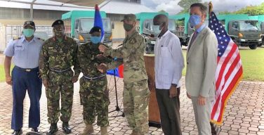 US Donates Vehicles and Equipment to Ministry of National Security in Belize