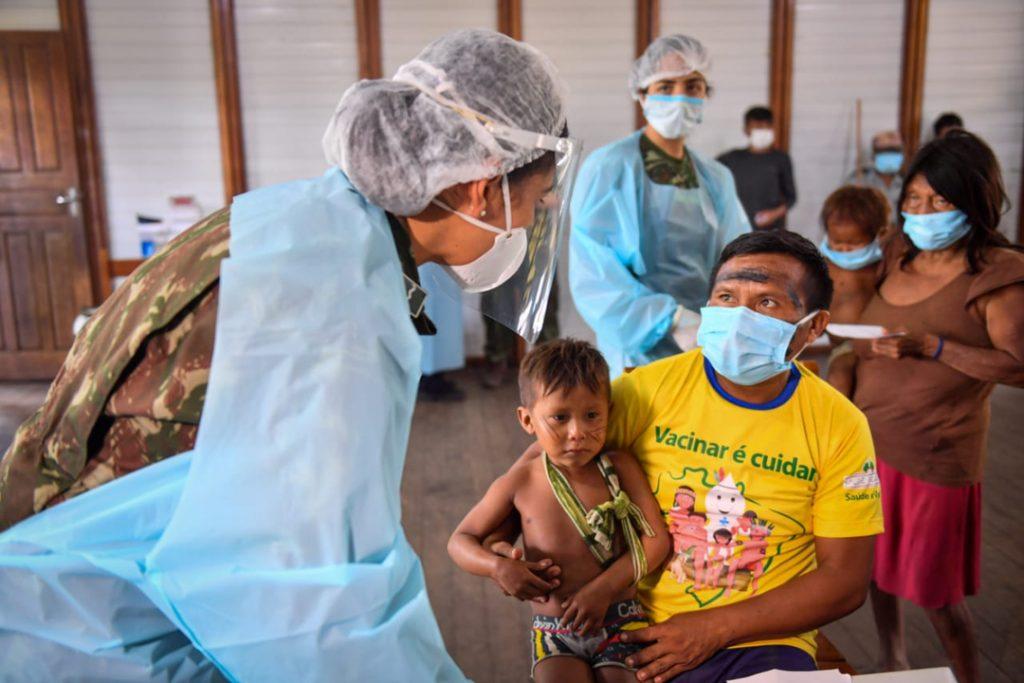 Brazilian Defense Ministry Helps Indigenous Communities Combat the Coronavirus