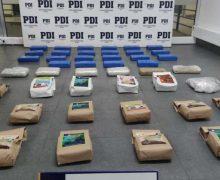 Polícia chilena desarticula uma quadrilha que traficava drogas vindas do Peru