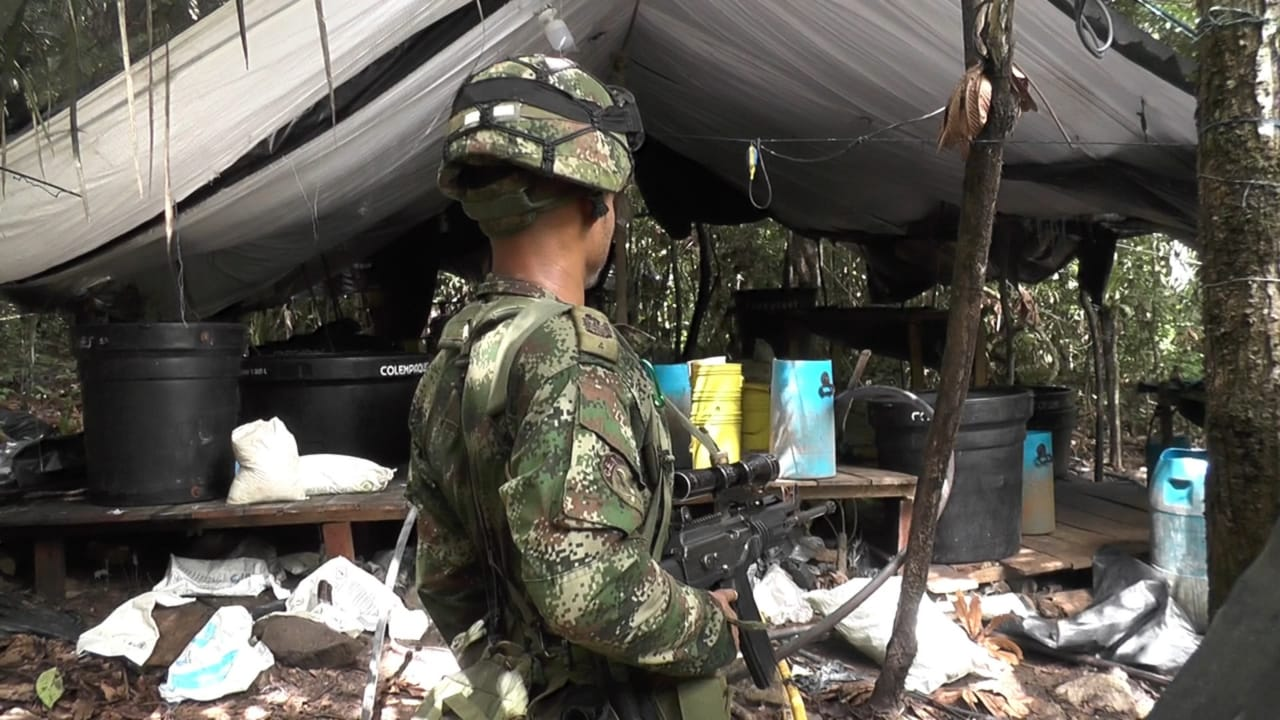 Colombian Military Forces Deal Blow to GAO in Guaviare