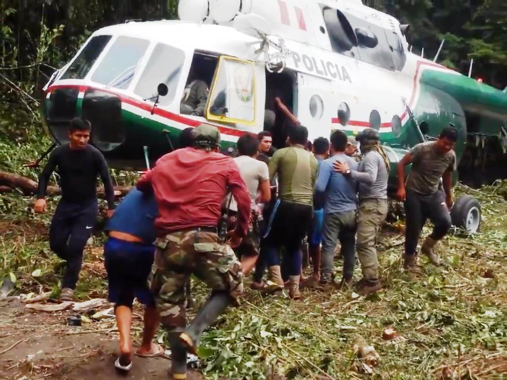Polícia do Peru apreende quase uma tonelada e meia de cocaína