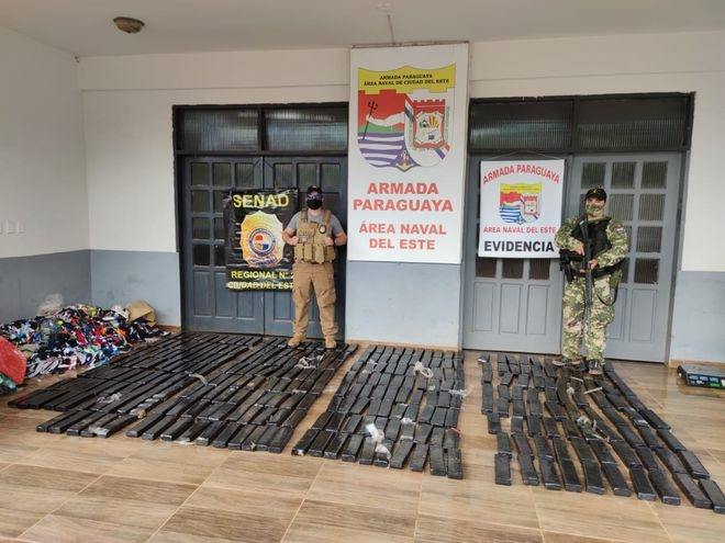 Paraguay: Security Forces Stop More than 1 Ton of Drugs Bound for Argentina and Brazil
