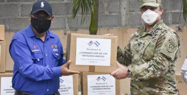 JTF-Bravo Donates COVID-19 Supplies for Municipalities in La Paz, Comayagua in Honduras