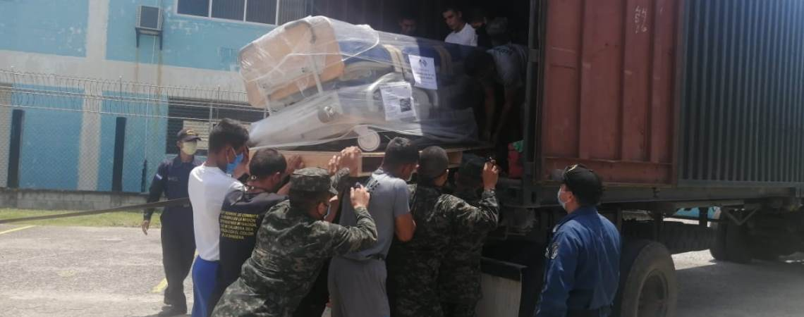 US Donates Medical Equipment, Furniture to Choluteca, Honduras