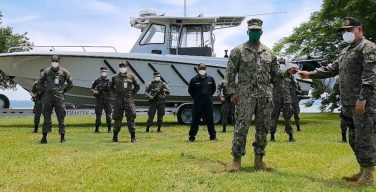 El Salvador Receives Speedboat to Strengthen Narcotrafficking Fight