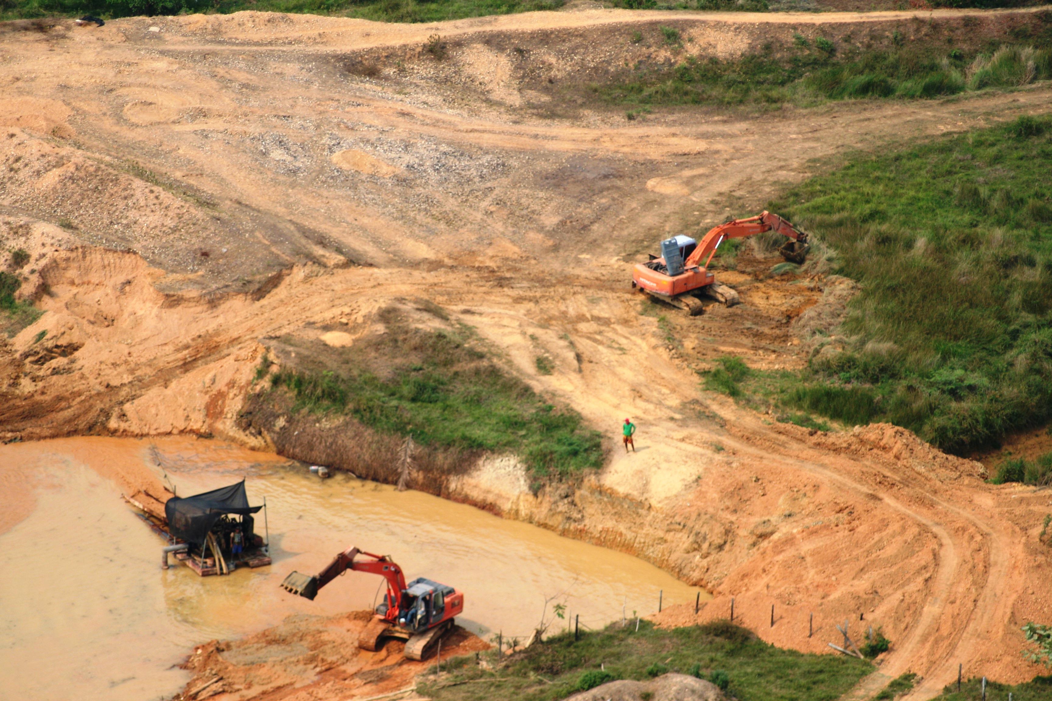 Continúa devastación de la jungla venezolana por actividades ilícitas