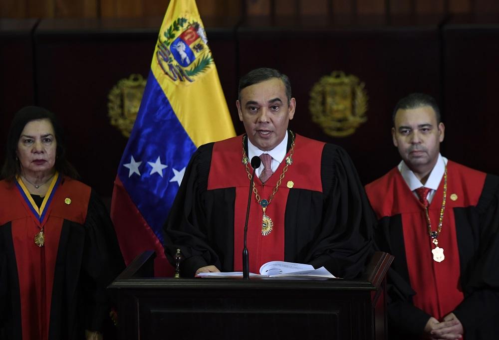 US Offers $5 Million Reward for Arrest of Venezuelan Chief Justice