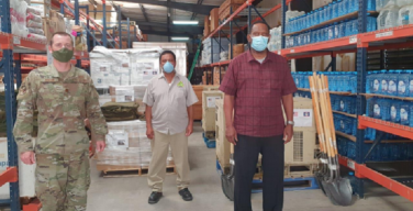US Government Delivers Disaster Response Supplies to Belize