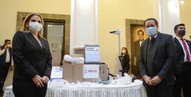 US Donates Ventilators to Bolivia to Support Hospitals in the Fight Against COVID-19