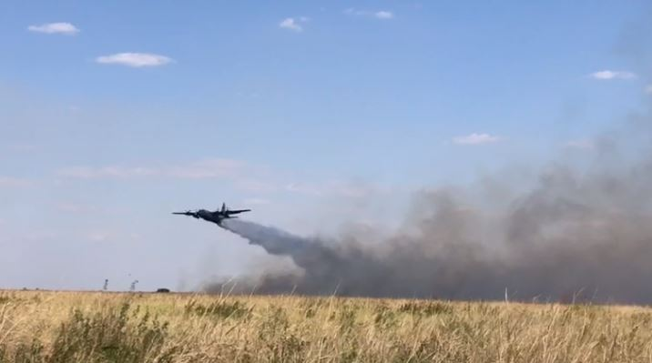 Brazilian Armed Forces Combat Wildfire in the Pantanal