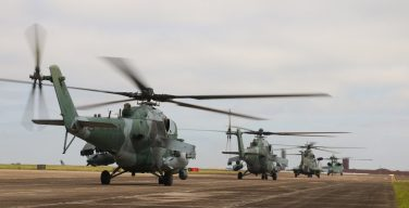 La Fuerza Aérea Brasileña entrena a militares para participar en escenarios de guerra irregular