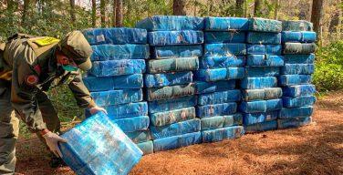 Argentine Gendarmerie Seizes More than 5 Tons of Marijuana