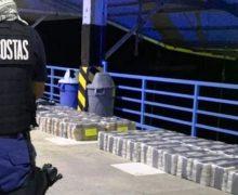 Costa Rica incauta casi 2,4 toneladas de narcóticos