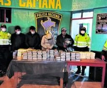 Peruvian National Police Destroys Drug Labs