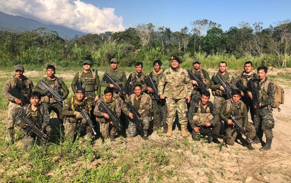 Peru: Service Members Strengthen Fight Against Narcotrafficking in VRAEM