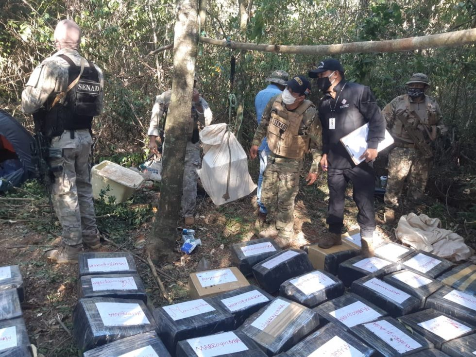 Paraguayan Narcotics Agents Seize Nearly 3 Tons of Hashish