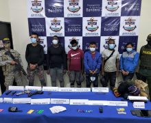 Colombian Navy Captures 6 Clan del Golfo Members