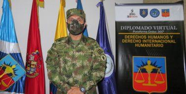 Ejército de Colombia lanza diplomado virtual en derechos humanos