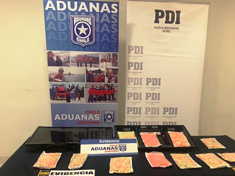 Chile Fighting Increase in Synthetic Drug Trafficking