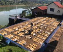 Prefeitura Naval Argentina confisca mais de 8 toneladas de maconha