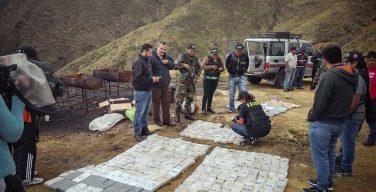 Bolivia en pie de lucha contra las drogas