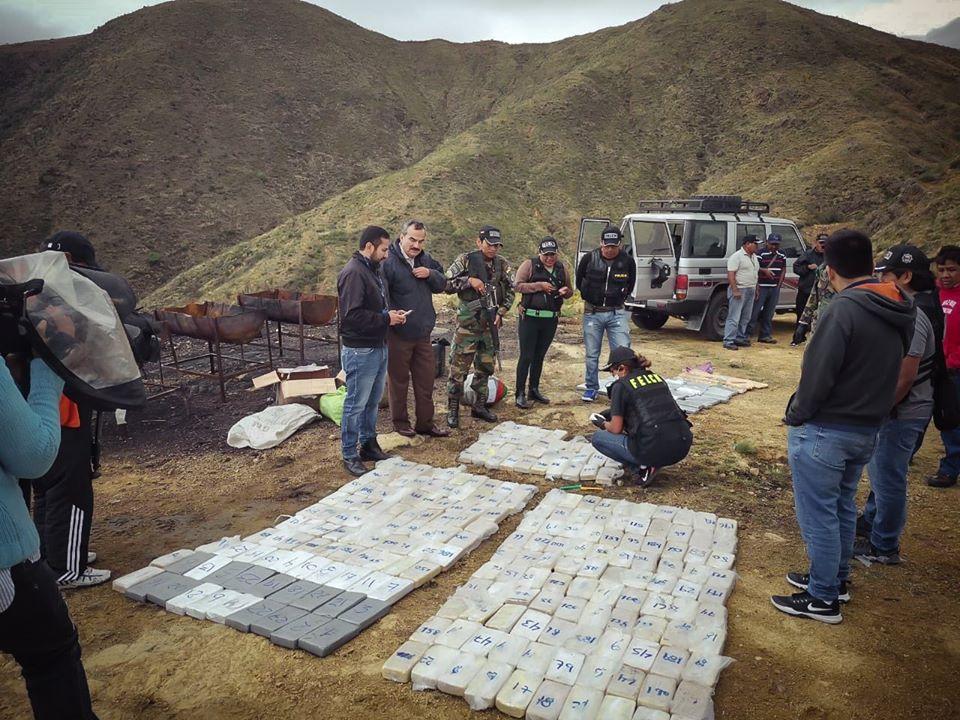 Bolívia em pé de guerra contra as drogas