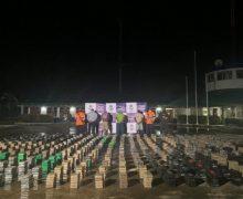 Armada colombiana incauta casi 3 toneladas de cocaína en un día