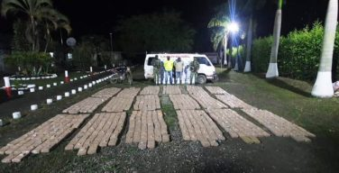 Colombian Armed Forces Seize 8 Tons of Drugs