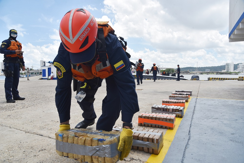International Cooperation Key to Drug Seizures in Colombia