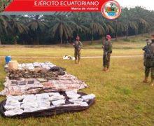 Ecuador desmantela campamentos de grupos criminales colombianos