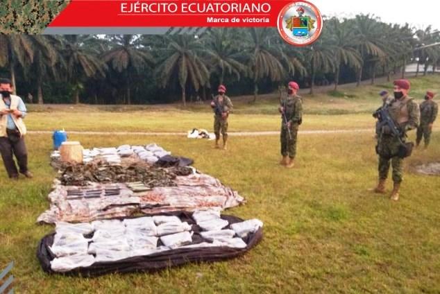 Ecuador Dismantles Campsites of Colombian Criminal Groups