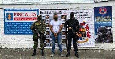 Leader of Criminal Group Alias Cristian Grande Captured in Colombia