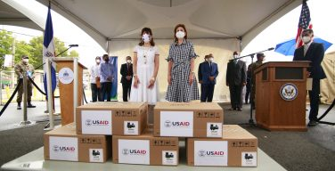 US Southern Command donates two field hospitals to support COVID-19 response in Dominican Republic