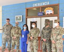 SPMAGTF Marines, JTF-Bravo donate critical supplies to Trujillo in Honduras