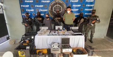 FNAMP de Honduras captura a más de 1000 integrantes de pandillas en dos años